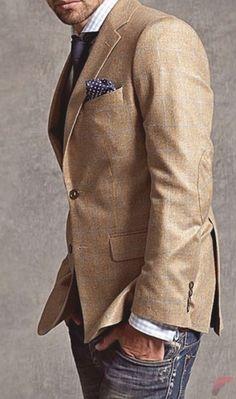 Men sport coat with jeans (77)