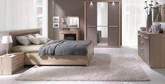 Design Luxury Bedroom Set Furniture Wood Complete Brown NEW! Luxury Bedroom Sets, Luxurious Bedrooms, Simple Furniture, Wood Furniture, Traditional Bedroom Furniture Sets, White Upholstered Bed, Bedroom Vintage, Interiores Design, Bedroom Decor