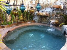 Outdoor hot tub at the Spa at Esperanza Resort, Cabo San Lucas, Mexico - will have to remember this place Outdoor Tub, Outdoor Areas, Outdoor Rooms, Cabo San Lucas Mexico, Tourist Center, I Love Mexico, Best Spa, All I Ever Wanted, Decks And Porches