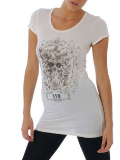Linea Weekend 5 Skull Print Tee. Retail £28. Bids from £4.20.