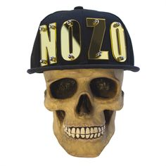 NOZO Fall / Winter 2014 Pre-Season collection.  NOZO Black Label Snapback with cut-out letters bolted into front.