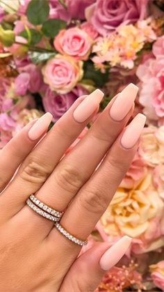 Oh, ces ongles sont si jolis - Estella K. Fav Nails - Nagel Oh ces ongles sont si jolis Estella K. Fav Nails x Bling Summer Acrylic Nails, Best Acrylic Nails, Acrylic Nail Designs, Nail Summer, Aycrlic Nails, Hair And Nails, Coffin Nails, Pink Coffin, Fire Nails