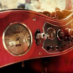 Vintage Car Photography  Vintage Dashboard by GoldenShutter, $20.00