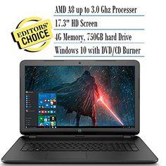 2016 HP 17.3 Inch Notebook Laptop (AMD A8-7050 Processor… https://www.amazon.com/HP-Notebook-Processor-Certified-Refurbished/dp/B01H9ZIUUU/ref=as_li_ss_tl?s=pc&ie=UTF8&qid=1472084175&sr=1-7&keywords=laptop&refinements=p_36:30000-99999999&linkCode=ll1&tag=view.laptop-20&linkId=4bdc0f0db3287c18d32ff895ff0b0a56