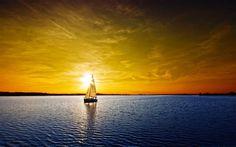 Image detail for -Ocean Sunset Wallpaper Boat Wallpaper, Sunset Wallpaper, Landscape Wallpaper, Wallpaper Desktop, Amazing Sunsets, Beautiful Sunset, Amazing Nature, Beautiful Morning, Beautiful Scenery