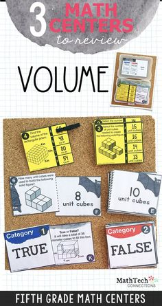 5th grade Math Worksheets: Volume of cubes | My Home ...