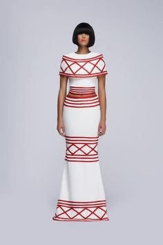 DYNAMIC AFRICA — Regal Looks and Structural Silhouettes Shape...