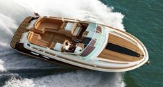 Chris Craft Corsair 36 yacht tender - The Corsair 36 yacht is the largest of the Corsair series and equipped for all seasons and built to take on offshore waters #speedboataccessories
