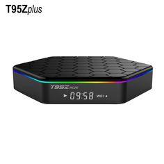 T95Z בתוספת IPTV הטלוויזיה Box Amlogic S912 אנדרואיד אוקטה core ARM Cortex-A53 2 גרם/16 גרם אנדרואיד 6.0 הטלוויזיה Box WiFi BT4.0 2.4 גרם/5.8 גרם H.265 4 K לשחק