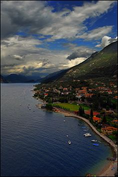 Malcesine view, Lake Garda, Italy