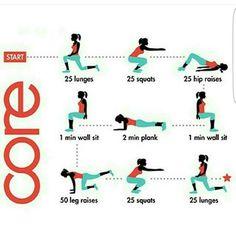 Sencilla tabla de ejecicios.  15 repeticiones por ejercicio . 4 series. Donde está ahora tu excusa? NO EXISTE! 💪 🔼 #reto90dias 🔼 #reto16semanas 🔼 #retototal  #healthylife  #vidasana  #noexcuses 📩Contacto : nutridietonline@hotmail.com 📩