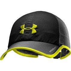 862c1b42742 UNDER ARMOUR Mens Shadow Sports Running Cap - Black   Hi Vis  Amazon.co