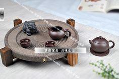 yaroo ~ retro personality stone tea tray tea sea purple stone plate kung fu tea tea tables, tuba Specials - SGbuy4u - Simply Better Shopping!
