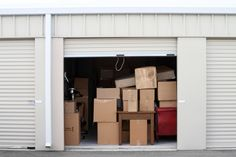 10 Tips to Organize Your Self-Storage Unit - Stuff It Inn storage unit organization tips - Storage And Organization Storage For Rent, Boat Storage, Built In Storage, Tall Cabinet Storage, Storage Building Plans, Metal Building Kits, Building A House, Self Storage Units, Storage Spaces