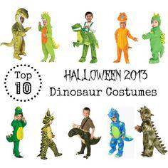 Top 10 Dinosaur Costumes for Halloween 2013