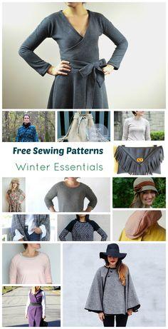 15 Free Sewing Patterns: Winter Essentials