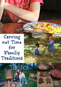 Ideas for Creating Family Traditions - fun list of autumn and holiday activities!
