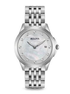 96P174 Reloj Clásico de la colección Diamantes para dama.