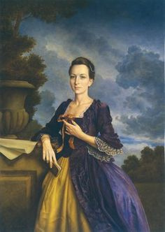 Martha Washington by Michael Deas
