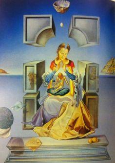 The Madonna of Port Lligat (First Version), Salvador Dali