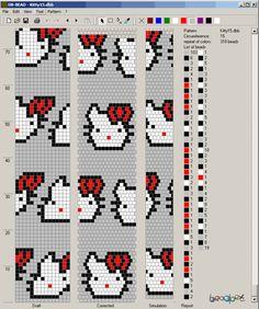 15 around tubular bead crochet rope pattern Crochet Bracelet Pattern, Loom Bracelet Patterns, Crochet Beaded Bracelets, Bead Crochet Patterns, Bead Crochet Rope, Bead Loom Bracelets, Beaded Jewelry Patterns, Beading Patterns, Beaded Animals