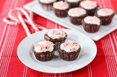peppermint crunch brownie bites!