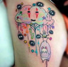 Arco-iris tattoo miyazaki chihiro