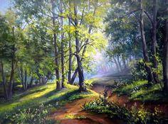 """Képtalálat a következőre: """"horst schnepper"""" Landscape Drawings, Landscape Illustration, Watercolor Landscape, Fantasy Landscape, Landscape Art, Landscape Paintings, Spring Scenery, Watercolor Paintings For Beginners, Cottage Art"""