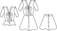 Papercut Patterns La Sylphide dress