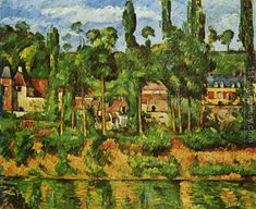 The Chateau De Madan Paul Cezanne Reproduction | 1st Art Gallery