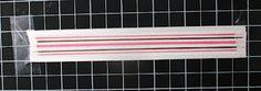 Ribbon Carousel Blog: Tutorial - Custom Striped Ribbon with Copics