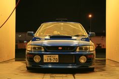 Subaru WRX STI in Japan. Almost just like mine :)