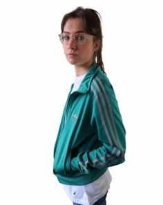 Adidas Vintage 1980's ATP Tennis Jacket Made in West Germany Rare size L (D 52) | eBay