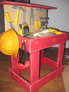 workbench - this would be perfect for miss G when she's bigger and helping daddy in the garage