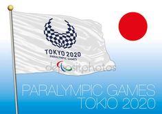 Tokio, Giappone - agosto 2020, preparazione per il 2020 Giochi Paralimpici, logo, bandiera e simbolo — Vettoriali  Stock © frizio #135389124