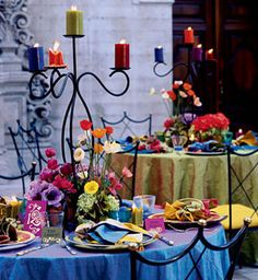 Colorful Wedding Reception 4
