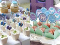cha-de-bebe-borboleta-lilas-azul-fabiana-moura-sweet-carolina-04 Butterfly Birthday Party, Garden Birthday, Girl Birthday, Ideas Para Fiestas, Baby Decor, Shower Favors, Baby Shower Themes, Cupcake Toppers, Party Time