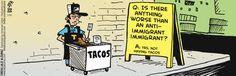 La Cucaracha by Lalo Alcaraz Thursday, July 31, 2014