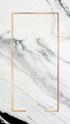 Download premium vector of Rectangle gold frame on gray marble background mobile phone wallpaper vector about marble, aesthetic, background, background marble, and banner 1221750