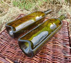 Wine Bottle Serving Trays SET OF 2 by ConversationGlass on Etsy https://www.etsy.com/listing/167151197/wine-bottle-serving-trays-set-of-2