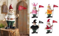 Dress up gnomes!