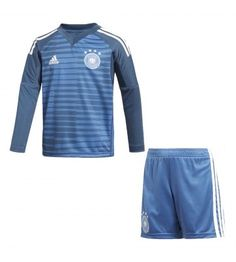 Germany Home Goalkeeper Adidas Mini Kit. Brand New With Tags. Worn during season. Not Recommended to Wash Above 30 Degrees. Suitable for Kids - Available in Multiple Sizes. Football Shirt Printing, Football Shirts, Kids Football Kits, Germany For Kids, Adidas Mode, German National Team, Germany Football, Boys Home, Soccer Shop