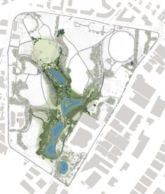 Image 19 of 31 from gallery of Sydney Park Water Re-Use Project / Turf Design Studio, Environmental Partnership, Alluvium, Turpin+Crawford, Dragonfly and Partridge. Plan