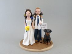 Personalized Outdoor/ Hiking Theme Wedding Cake Topper
