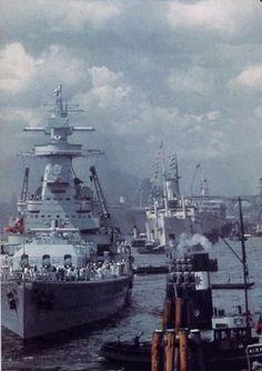Admiral Graf Spee in Montevideo, 1939