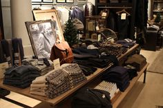 Club Monaco Men's Shop has old world charm