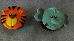 Cupcake tigre elefante