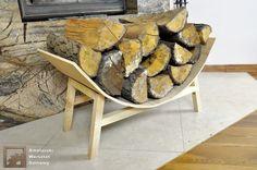 Półokrągły stojak na drewno kominkowe – cz. 2   Amatorski Warsztat Domowy