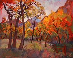A gorgeous painting by Erin Hanson.