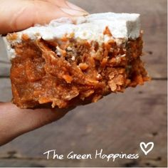 The Green Happiness | Real carrot cake